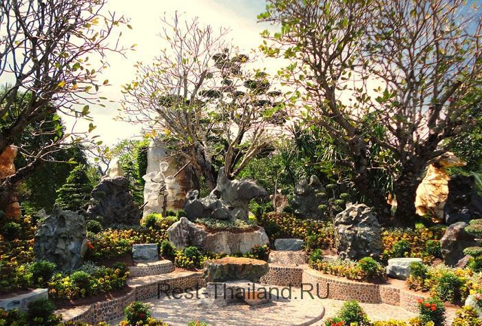 Сад камней в Паттайе