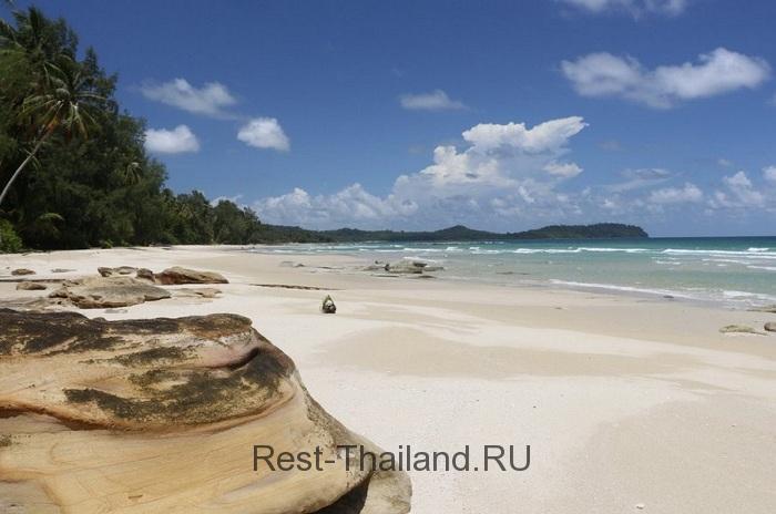 белоснежные пески острова Ко-Куд