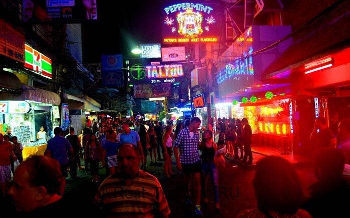 Ночная жизнь в Тайланде