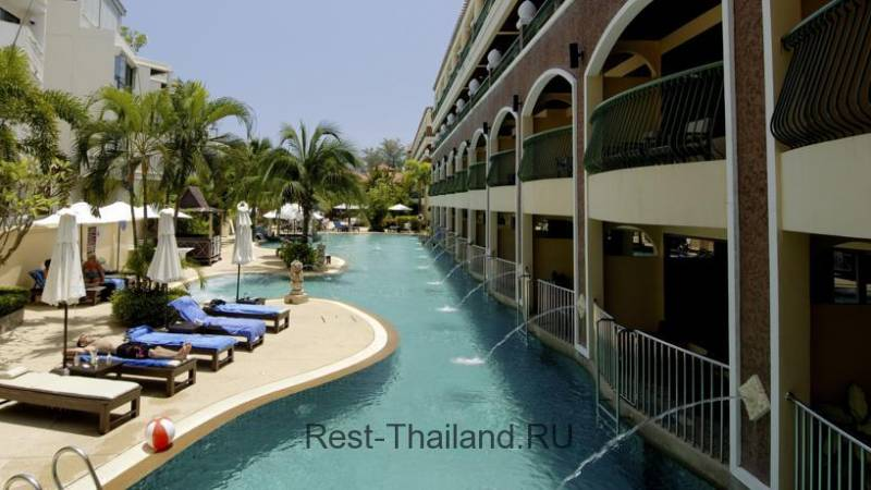 Отель Karon Sea Sands Resort