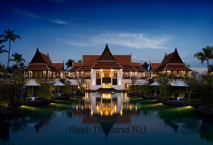 Отель JW Marriott Phuket Resort & Spa