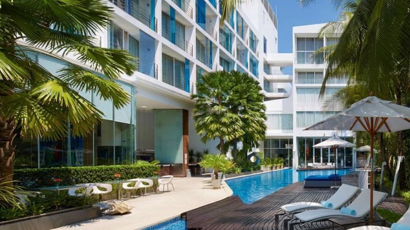 Отель Baraquda Pattaya MGallery Collection