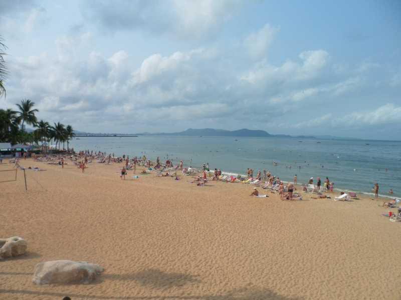 пляж Ambassador City Jomtien