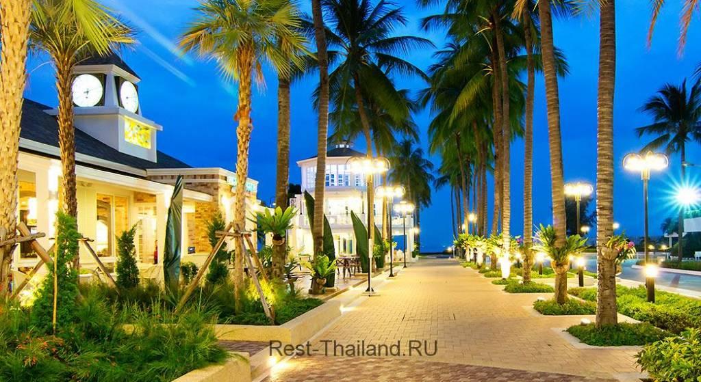 Отель Ambassador City Jomtien Hotel в городе Паттайя