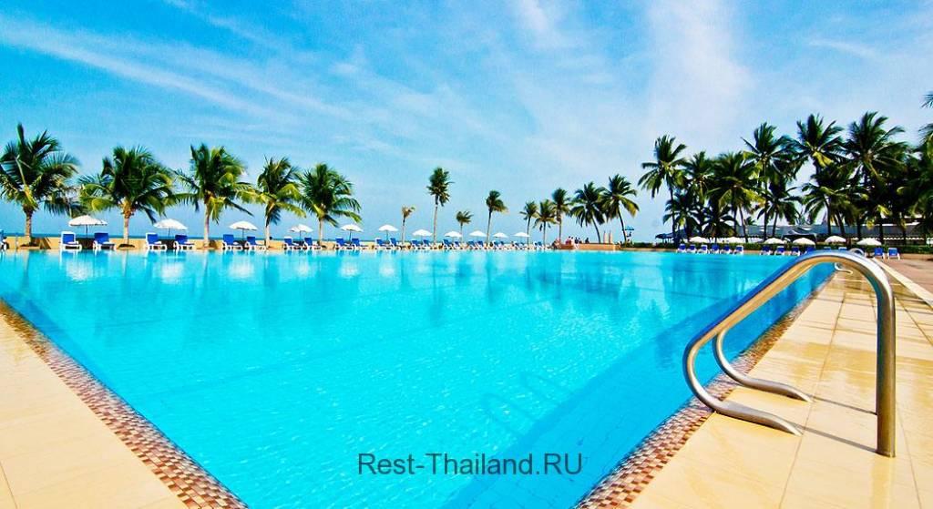 Отель Ambassador Jomtien Hotel в Таиланде Паттайя