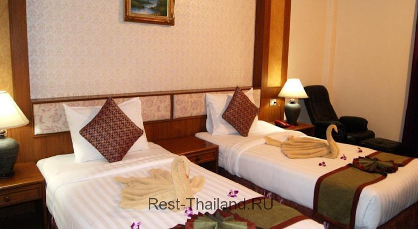 Отель Тантип Бич Резорт Пхукет Тайланд