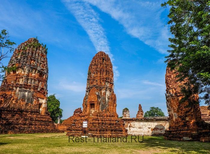 Аюттайя - древняя столица Сиама