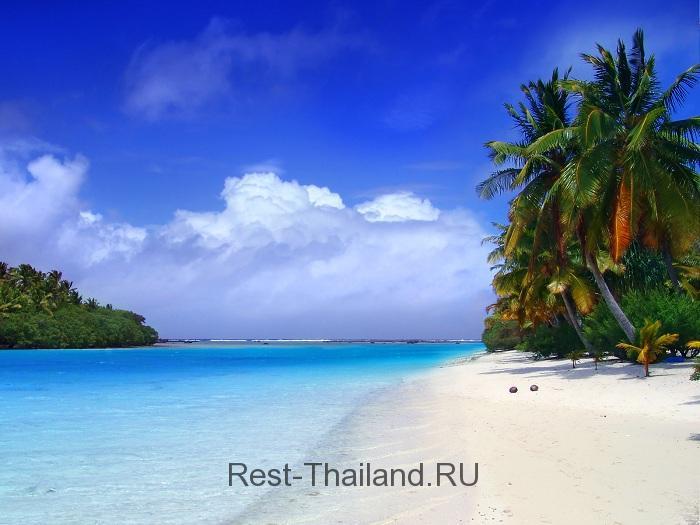 пляж на острове Пхукет