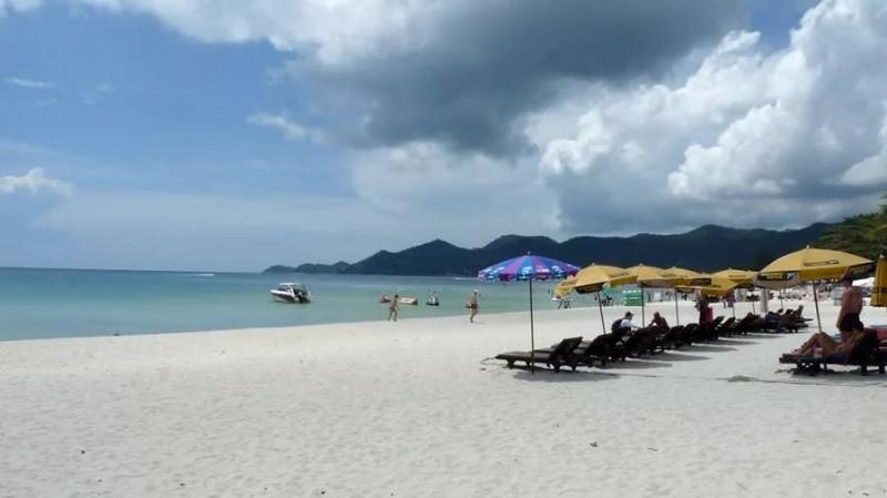 Пляж Чавенг, Самуи.