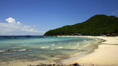 берег острова Ко Лан