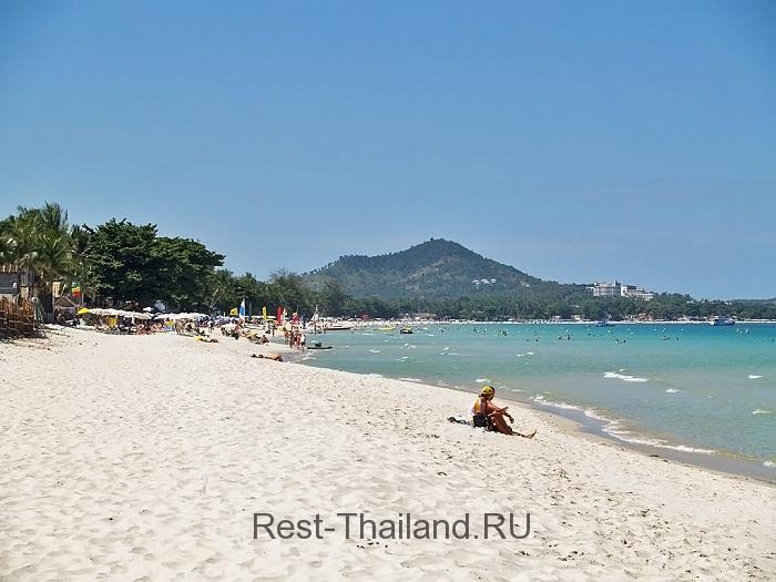 пляж Чаввенг на острове Самуи
