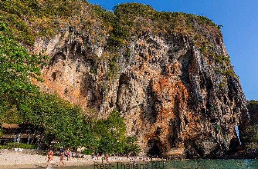Полуостров Рейли в провинции Краби