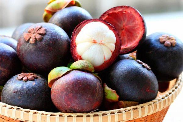 Мангостин фрукт Тайланда
