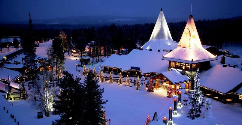 Куда поехать на Новый год в зимнюю сказку? Лапландия