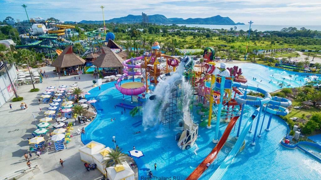 Лучшие аквапарки в Паттайе