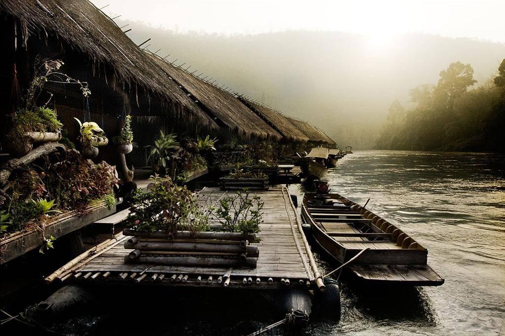 река квай плавучие отели