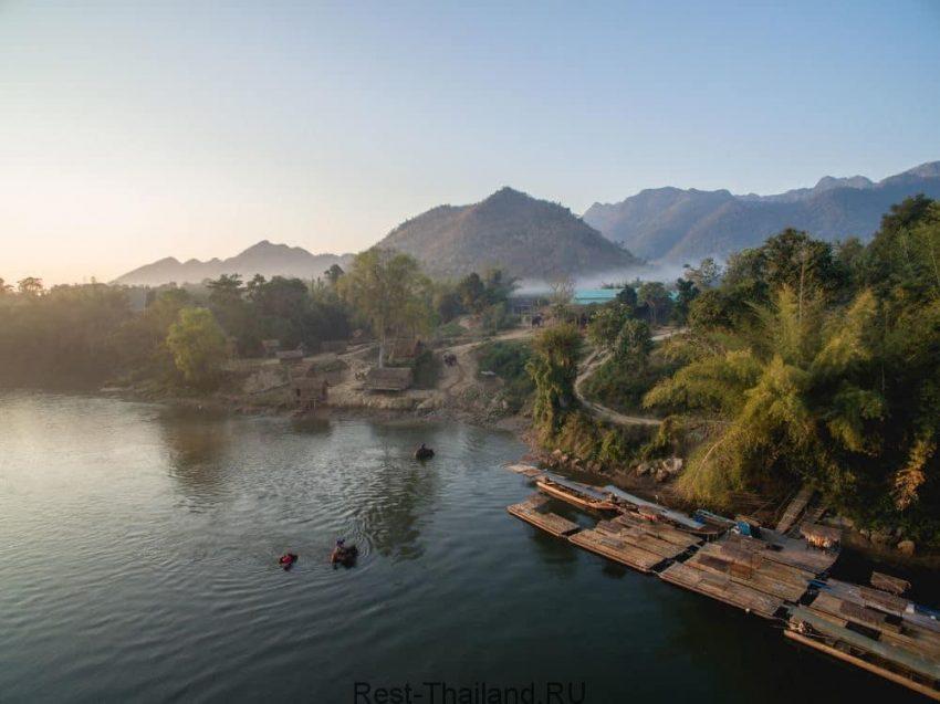 Экскурсия на реку Квай в Тайланде