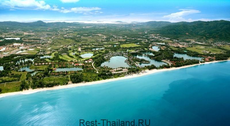 Пляж Пхукета Банг Тао