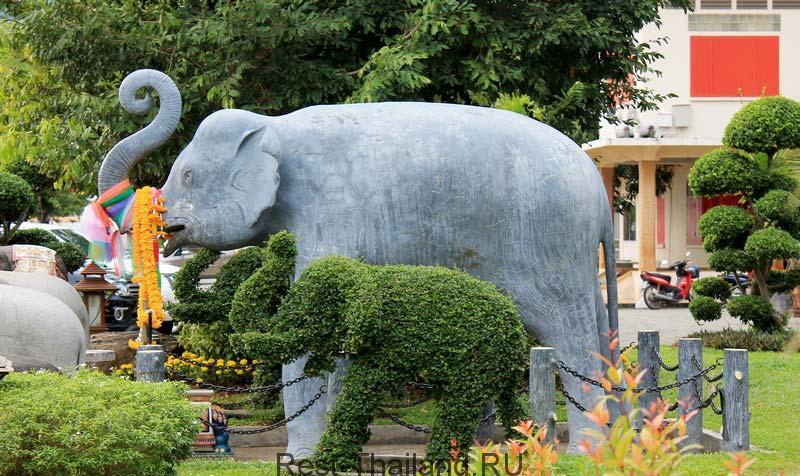 Достопримечательности храма Ват Чалонг