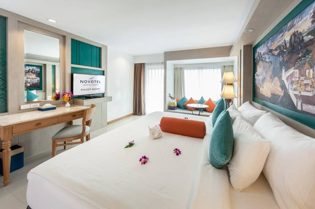 Номера в отеле novotel phuket resort 4