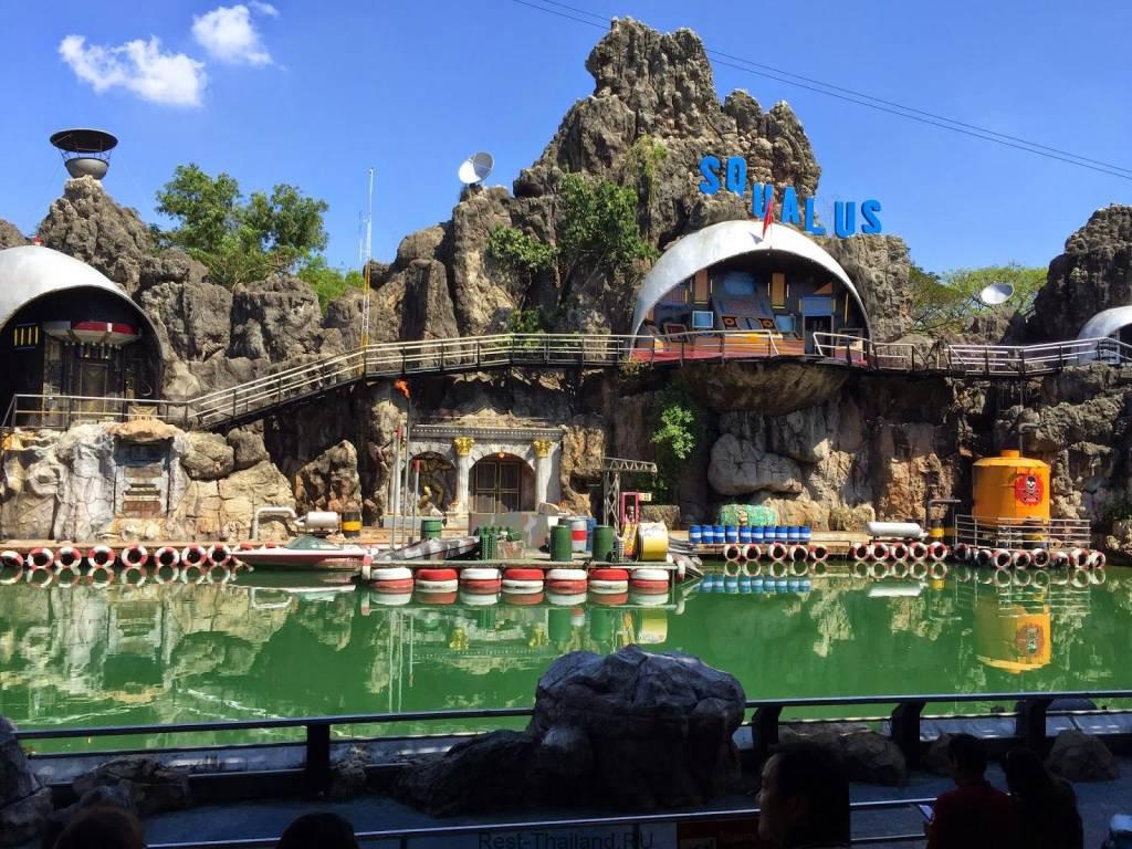 Потрясающий Сафари парк в Бангкоке