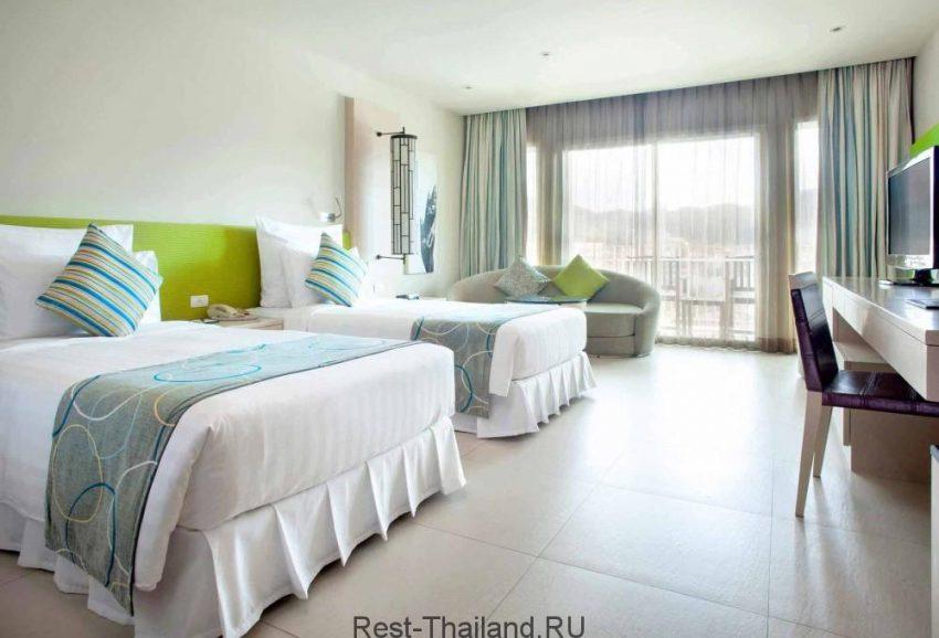 Отель millennium resort patong 5