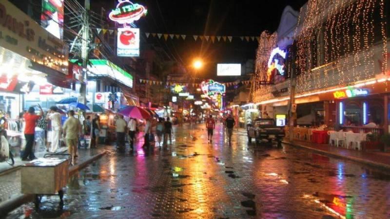 дождь на Пхукете