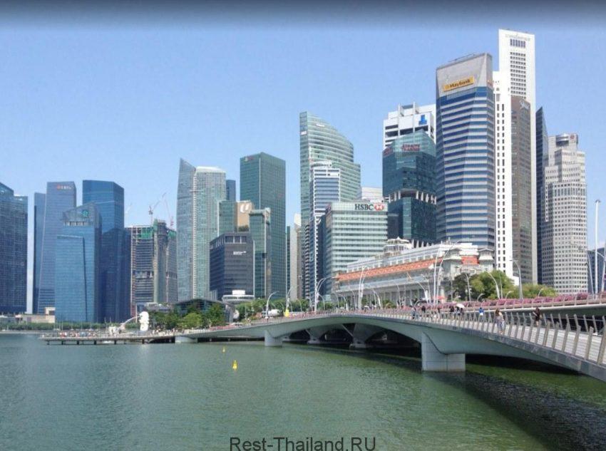 Сингапур из Пхукета