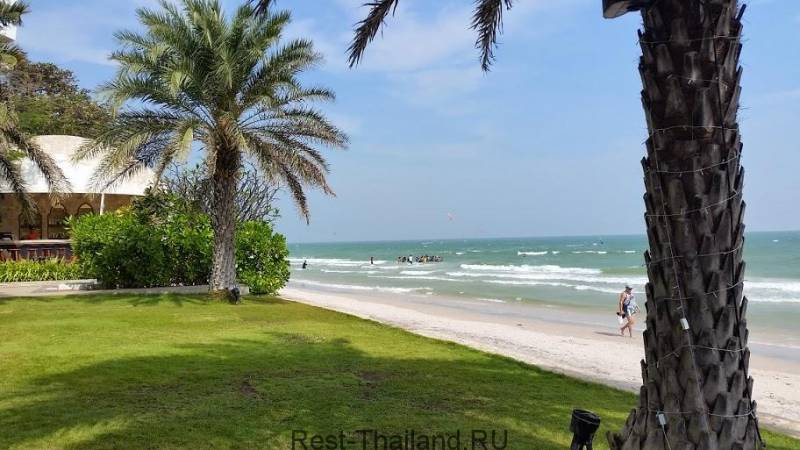 пляж на Хуа Хине