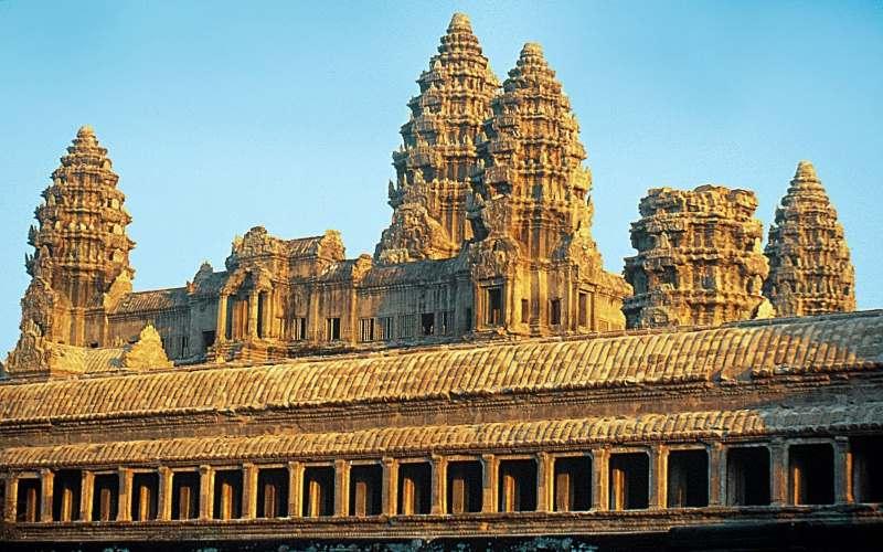 храмы ангкор ват