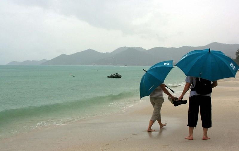 Сезон дождей в Тайланде Пхукет