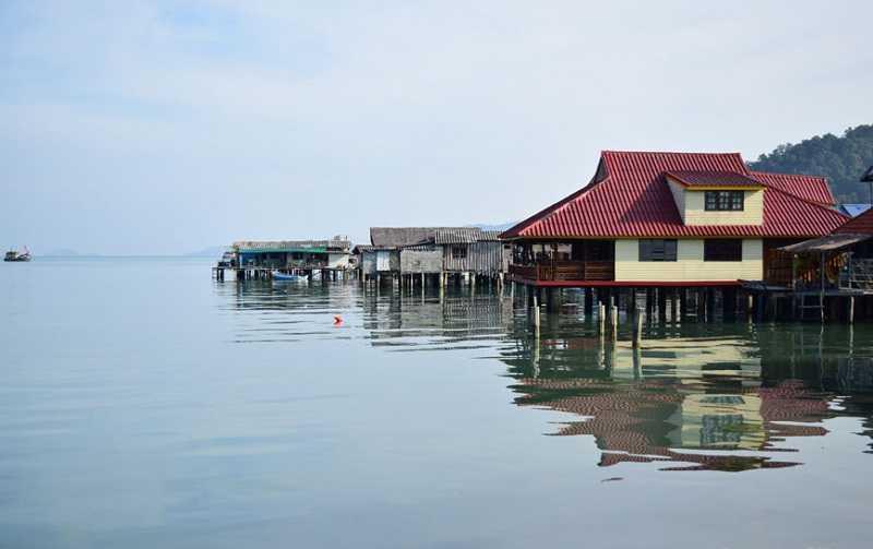 Рыбацкая деревня Банг Бао на Ко Чанге