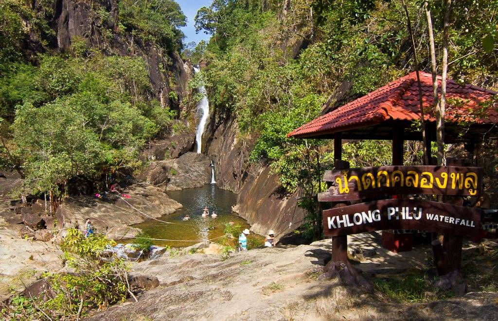 Водопад на Ко Чанге - Klong Plu Waterfall