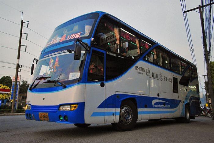 Как добраться из Пхукета на Самуи на автобусе