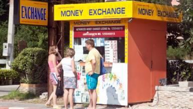 обменники в Паттайе