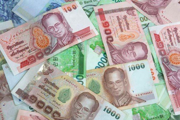 деньги Таиланда - баты