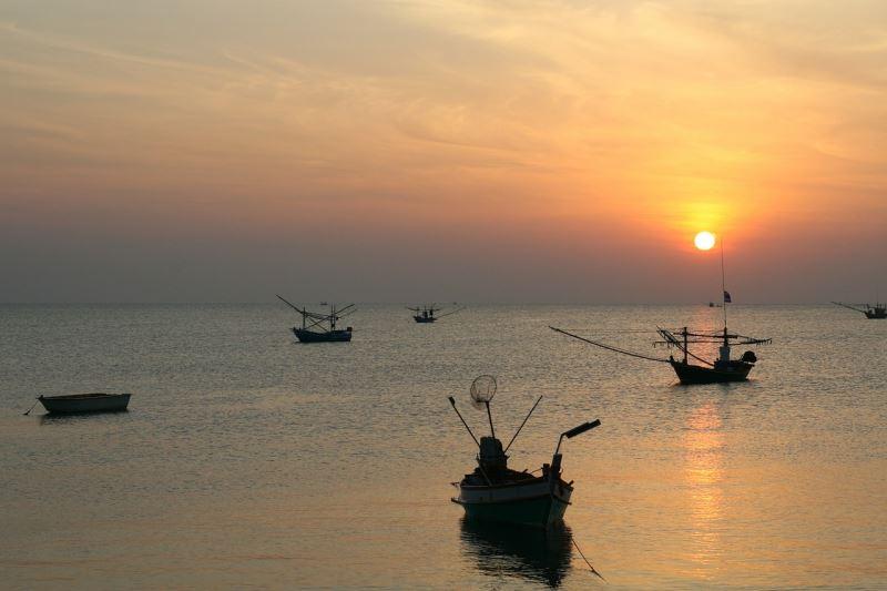 утро в тайланде