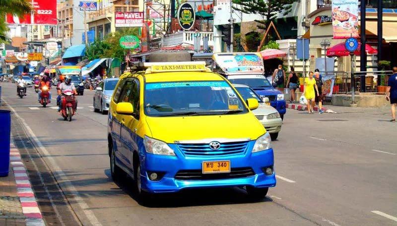 Такси Тайланда