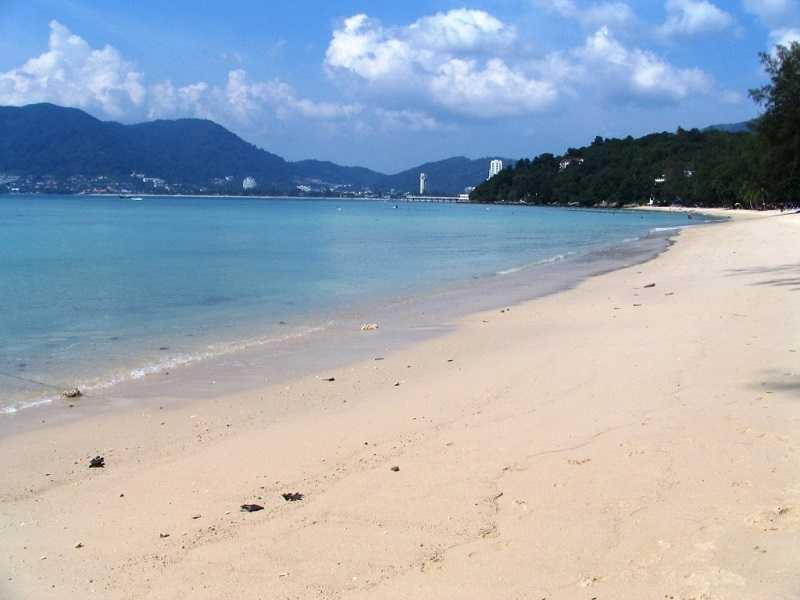 залив пляжа три транг