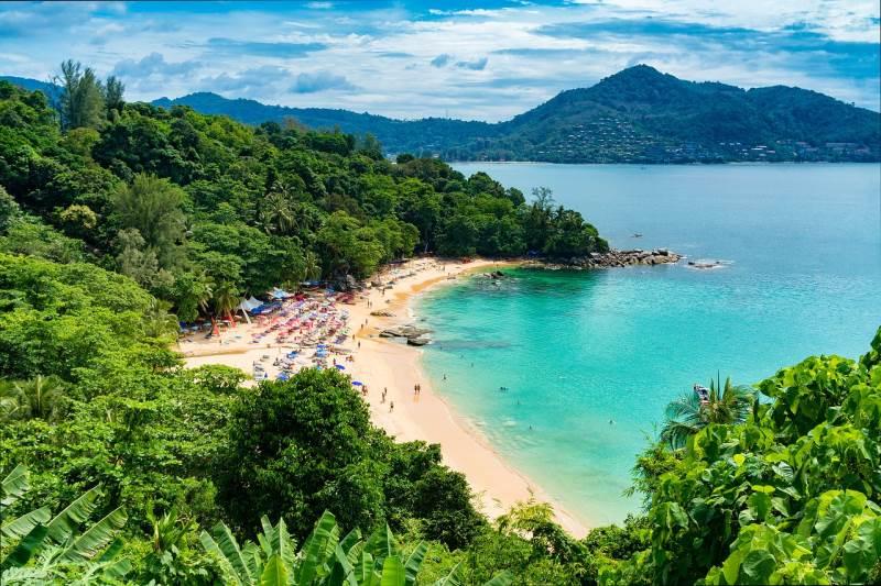 Таиланд пляж в январе
