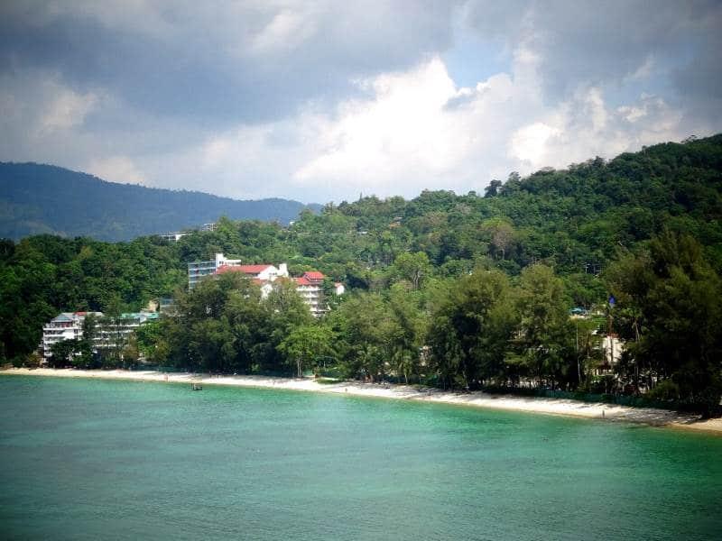 отель на пляже три транг