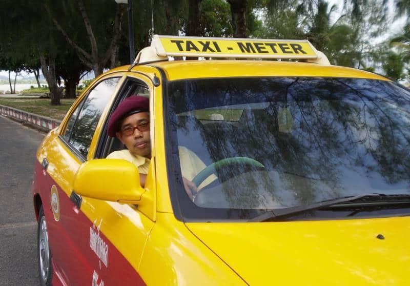 таксисты на острове пхукет