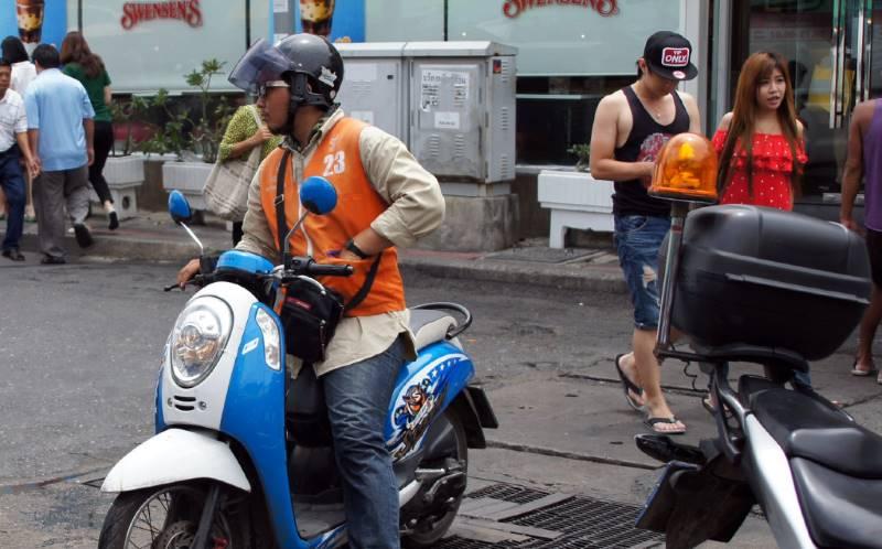 Мото-такси на пхукете