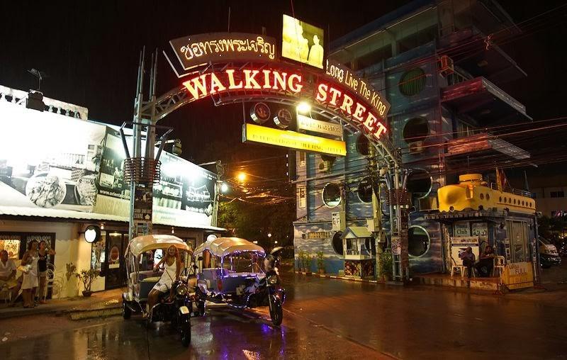 Walking Street в Паттайе - как добраться, развлечения, видео