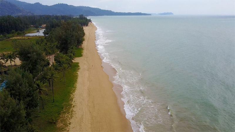 пустые пляжи Као Лак