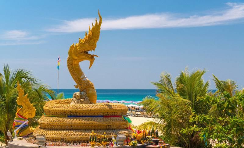 статуя дракона карон