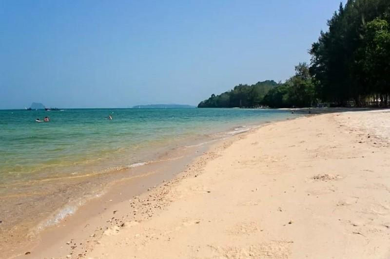 Пляж Туб Каак в провинции Краби
