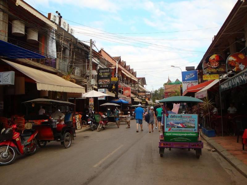 Паб Стрит Сием Рип камбоджа