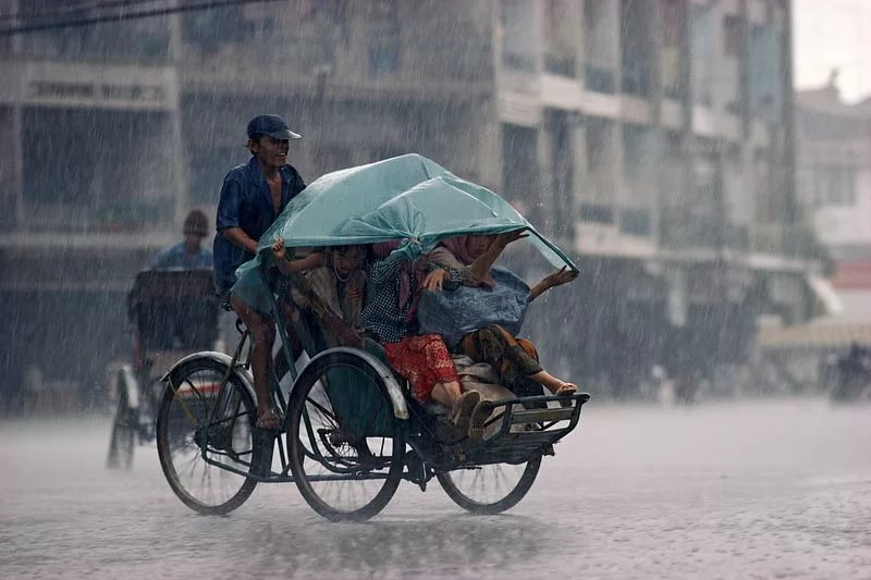Сезон дождей в Пномпень