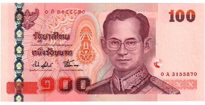 100 бат (банкнота)